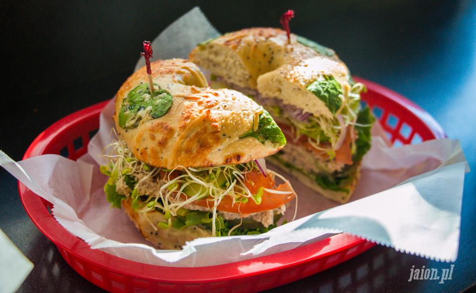 Bagel - amerykańska kanapka. Blog o Ameryce, USA, San Francisco i Dolinie Krzemowej