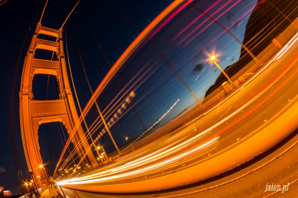 Ameryka Golden Gate w San Francisco