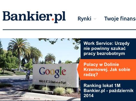 Tam mieszkam: Dolina Krzemowa – cz. 1 – Wywiad dla bankier.pl
