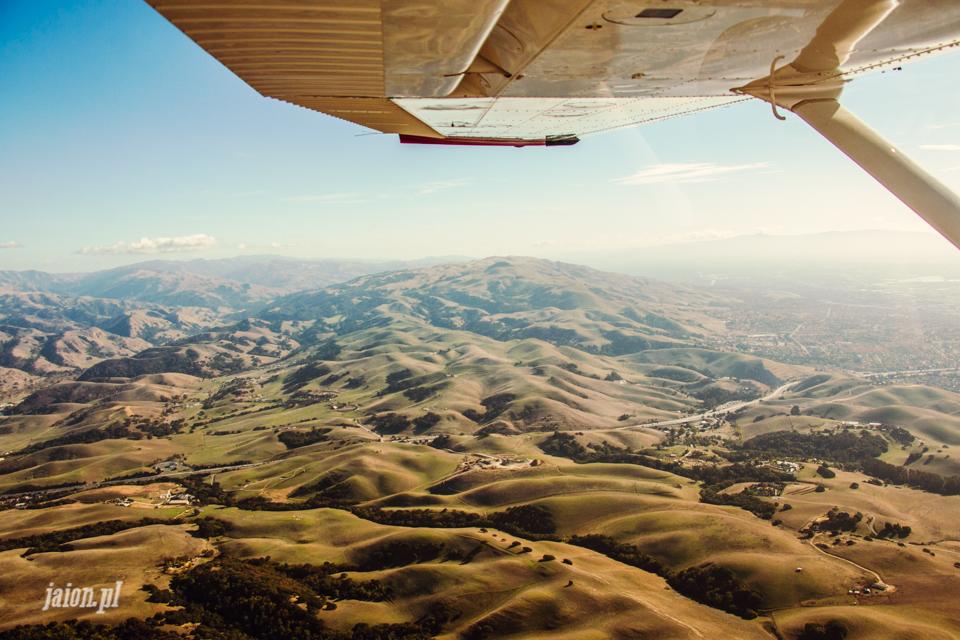 Przelot prywatnym samolotem nad Kalifornią!