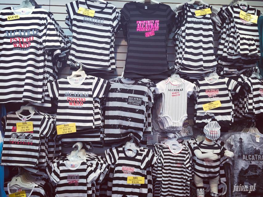 Ubranka dziecięce na wzór więźniów z Alcatraz