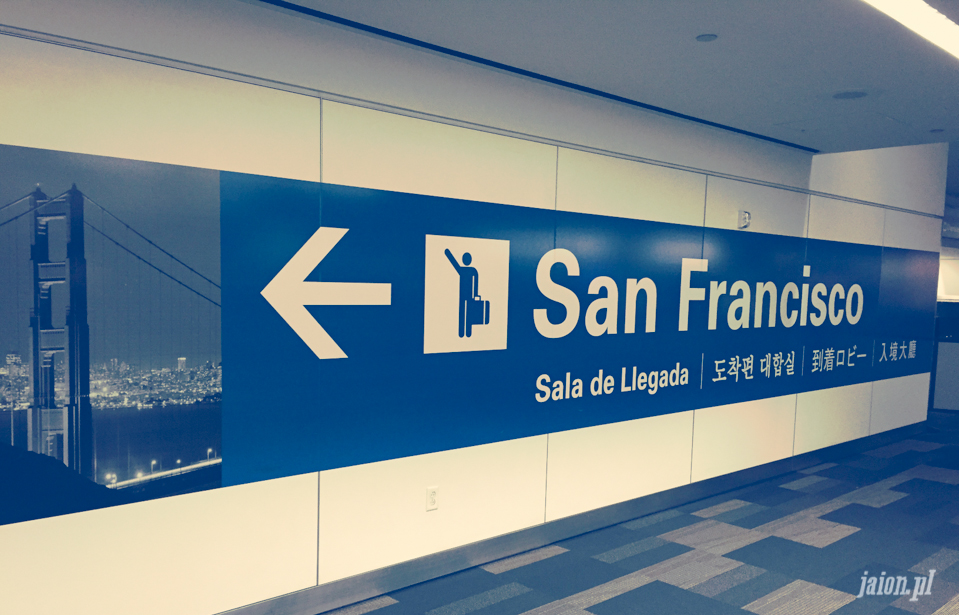 Znów blisko do San Francisco!