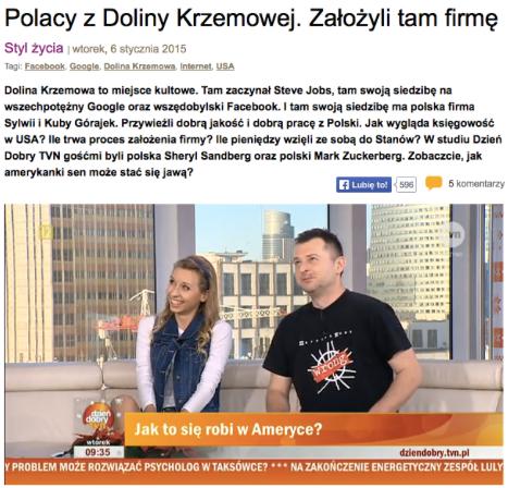 sylwia_jakub_gorajek_ddtvn_dolina_krzemowa_polacy_ameryka_usa
