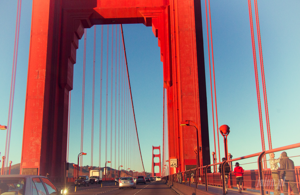 San Francisco, Golden Gate, California, USA, Ameryka,
