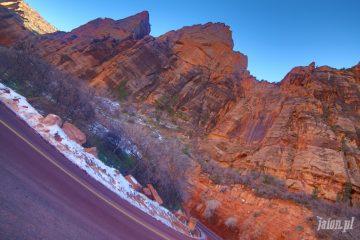Zion National Park Blog o Ameryce, Ameryka i USA