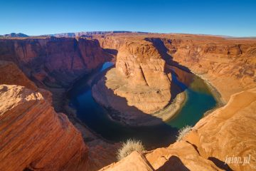 Horseshoe Bend, Blog o Ameryce i USA, Kalifornia, Utah, Arizona