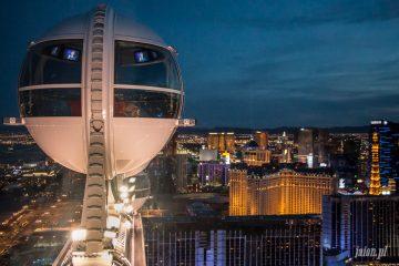 High Roller wielkie koło w Las Vegas